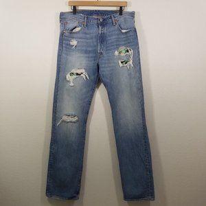 Levi's 501 Patch Button Up Jeans Size 36X34